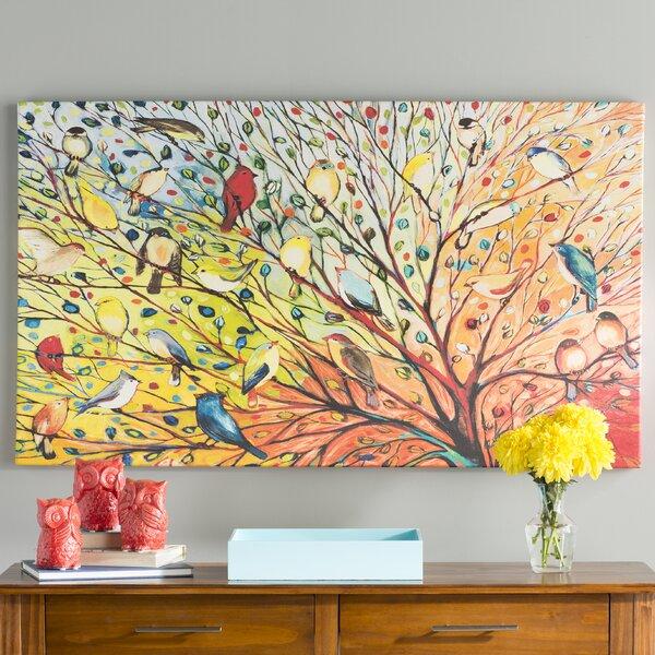 27 Birds Canvas | Wayfair