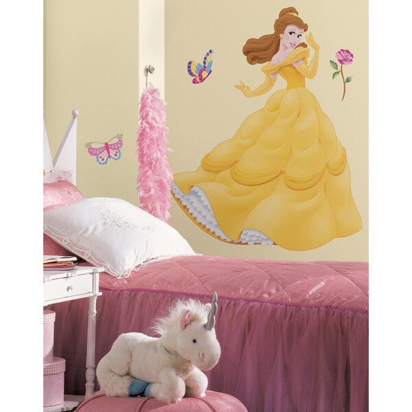 Disney Belle Cutout Wall Decal by Wallhogs