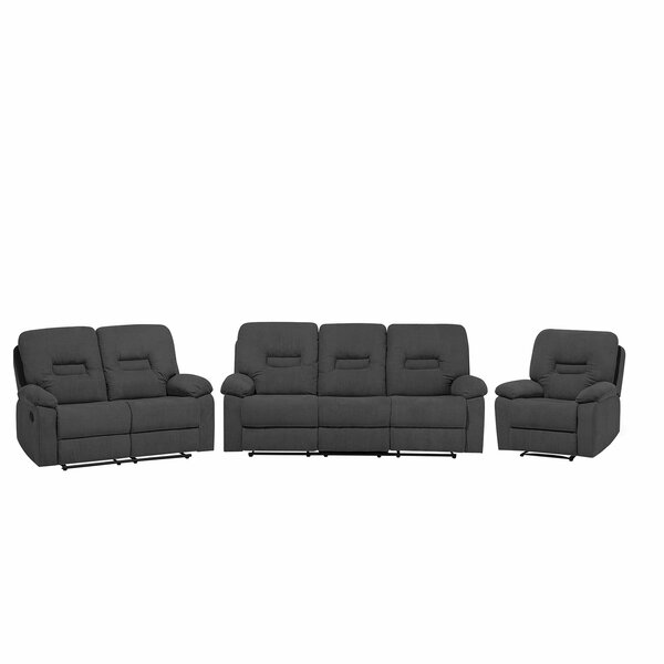 Mount Barker 3 Piece Living Room Set by Red Barrel Studio