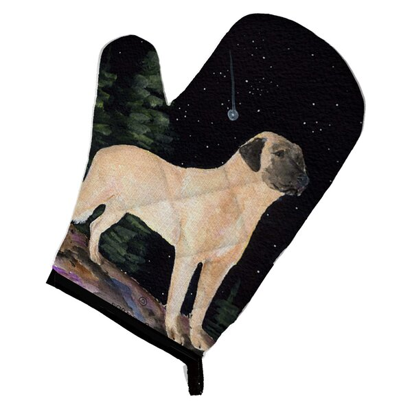 Starry Night Anatolian Shepherd Oven Mitt by Caroline's Treasures
