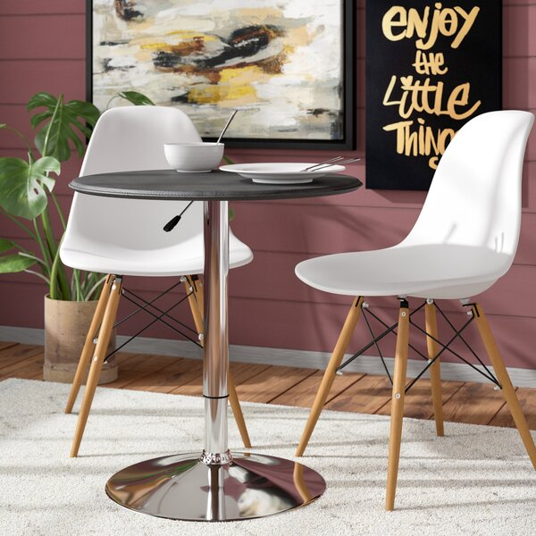 Carmody Modern Adjustable Height Pub Table by Mercury Row