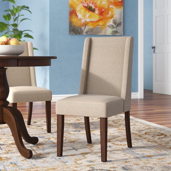 Granderson Birchwood Side Chair (Set of 2) by Three Posts