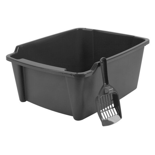 Randolph High Sided with Scoop Litter Pan by Tucker Murphy Pet