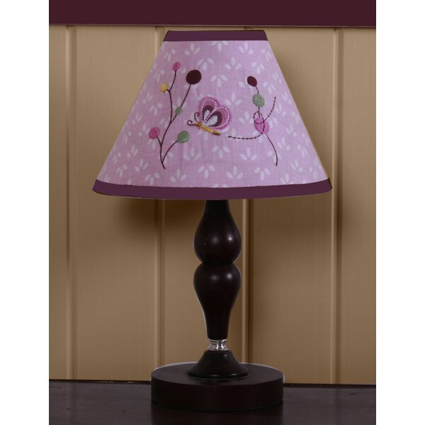 10 H x 7 W Polyester Blend Empire Lamp Shade ( Clip On ) in Pink