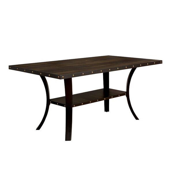 Duguay Transitional Solid Wood Dining Table by Gracie Oaks Gracie Oaks