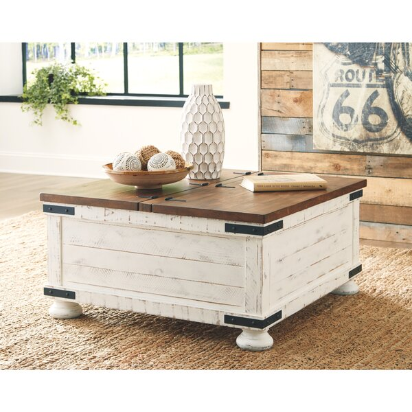 Bromsgrove Coffee Table with Storage by Gracie Oaks