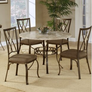 Marble kitchen dining tables youll love wayfair brookside stone top round dining table workwithnaturefo