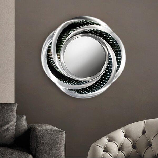 Jevon Swirl Infinity Accent Mirror by Brayden Studio