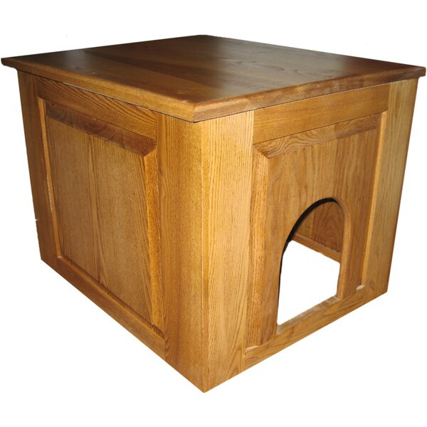 Murdoch Raised Panel Litter Box Concealment Cabinet by Tucker Murphy Pet