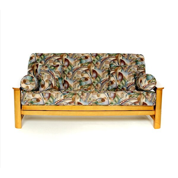 Cyber Box Cushion Futon Slipcover by Lifestyle Covers