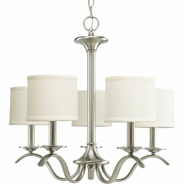 Mabini 5 - Light Shaded Classic / Traditional Chandelier by Andover Mills Andover Mills