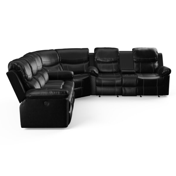Renfro Reversible Reclining Sectional By Winston Porter