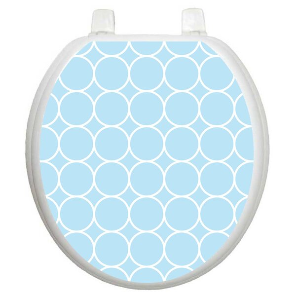 Wallpaper Bubbles Toilet Seat Decal by Toilet Tattoos