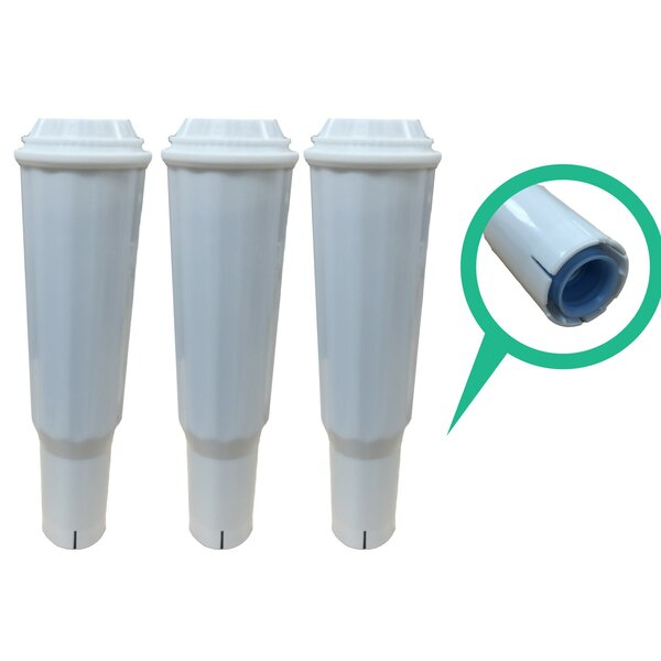 Jura Clearyl Refrigerator/Icemaker Water Purifier Filter (Set of 3) by Crucial