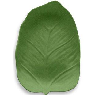 Virgie Leaf Melamine Salad Plate (Set of 6) by Beachcrest Home