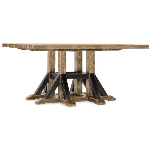 Roslyn County Solid Wood Dining Table by Hooker Furniture