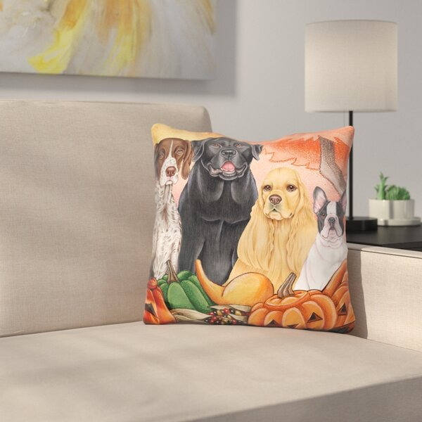 Great Indoor/Outdoor Harvest Throw Pillow by East Urban Home
