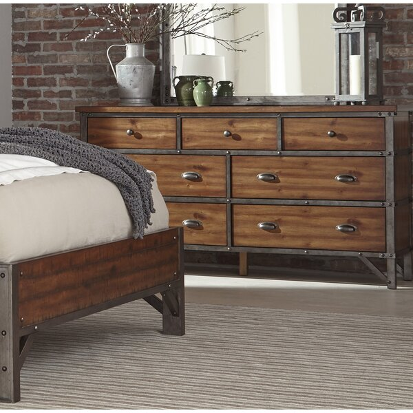 Haverhill 7 Drawer Double Dresser By Williston Forge by Williston Forge 2020 Sale