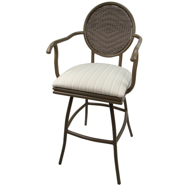 Strange Extra Wide Bar Stool Wayfair Customarchery Wood Chair Design Ideas Customarcherynet