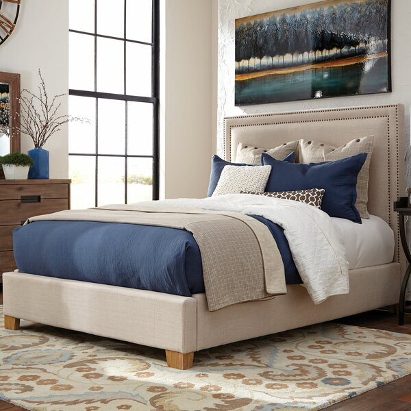 Durlston Upholstered Standard Bed by Loon Peak