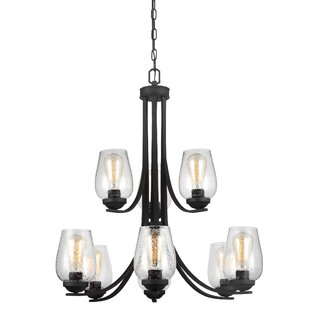 Price Check Chubbuck 9-Light Shaded Chandelier By Laurel Foundry Modern Farmhouse
