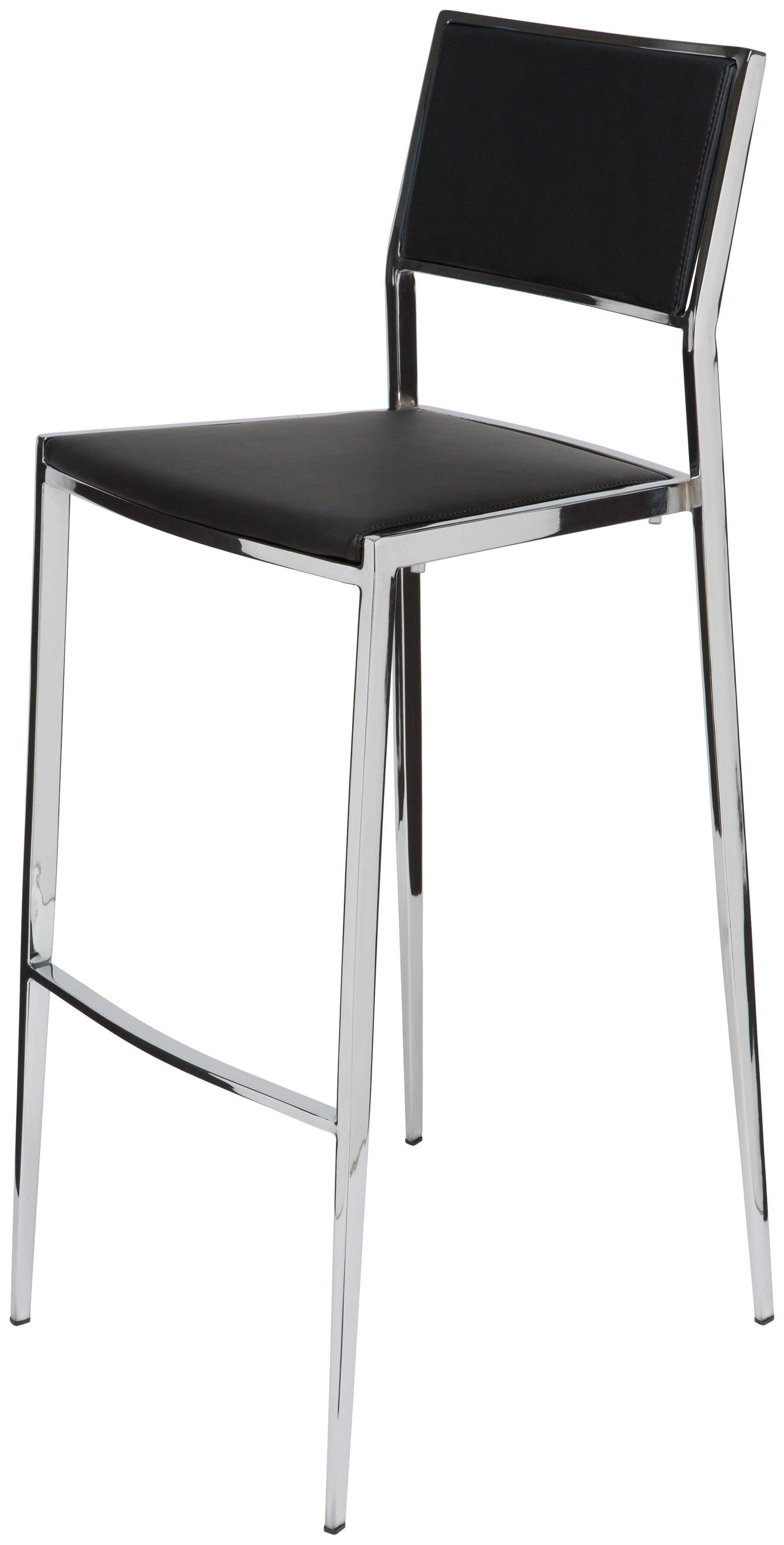 Stupendous Nuevo Aaron Bar Counter Stool Reviews Wayfair Unemploymentrelief Wooden Chair Designs For Living Room Unemploymentrelieforg