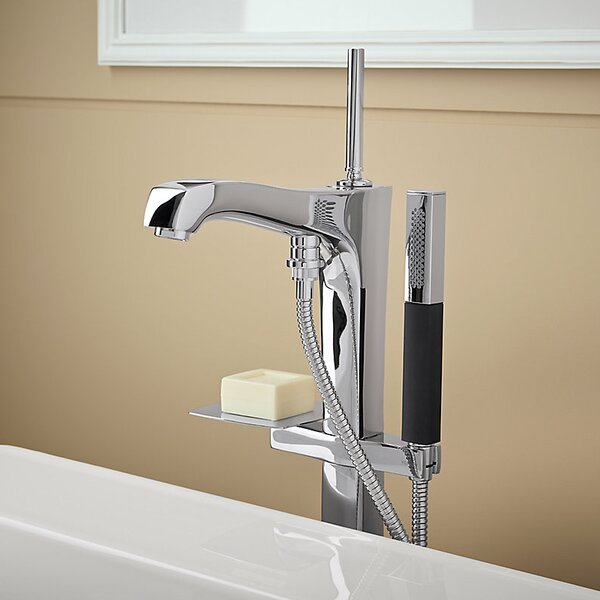 Margaux Floor Mount Bath Filler with Hand Shower by Kohler
