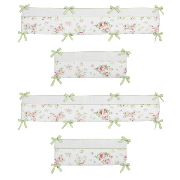 Riley S Roses Crib Bumper By Sweet Jojo Designs.