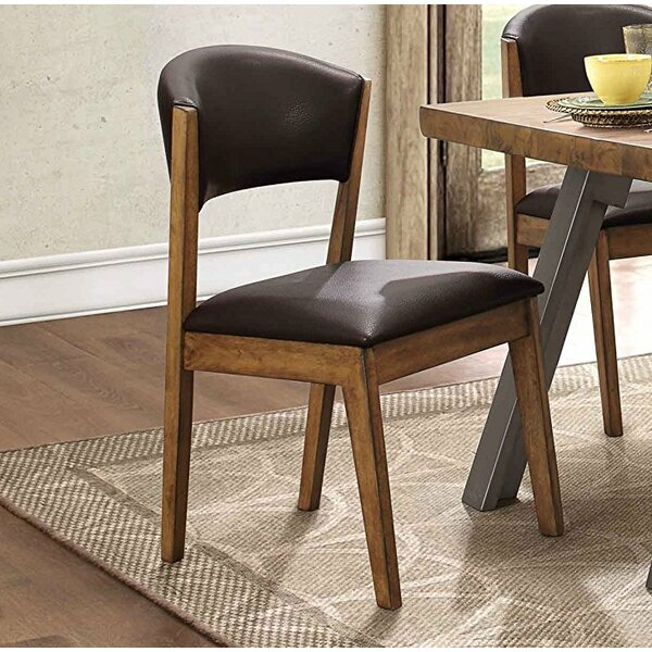 Vivian Upholstered Dining Chairs (Set of 2) by Foundry Select