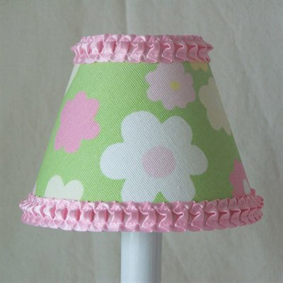 Fabulous Flower 11 Fabric Empire Lamp Shade by Silly Bear Lighting