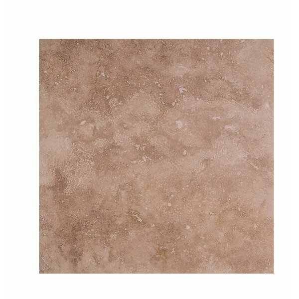 Pacifica 18 x 18 Travertine Field Tile in Brown by Parvatile