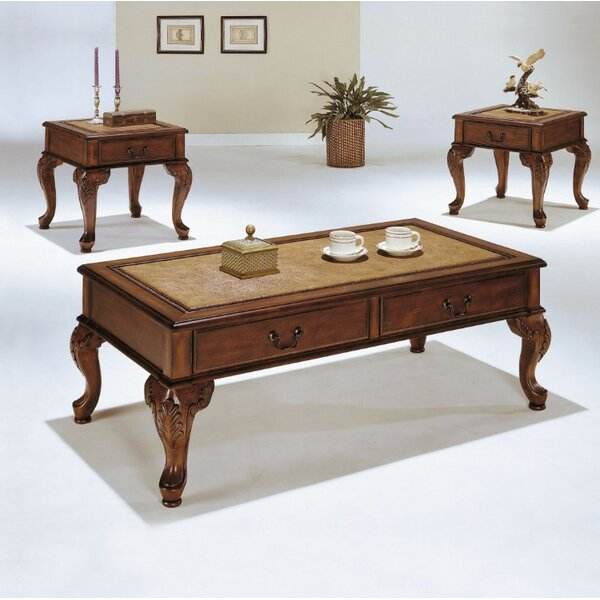 Lecroy Coffee Table Set (Set of 3) by Astoria Grand
