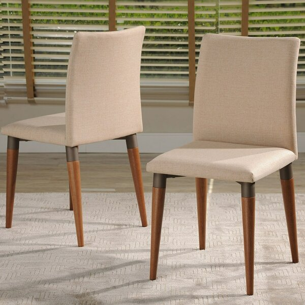 Tasker Upholstered Dining Chair (Set of 2) by Union Rustic