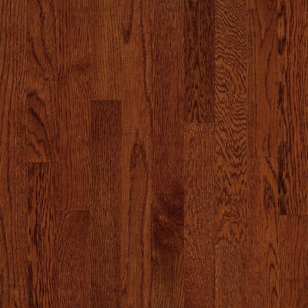 2-1/4 Solid Oak Hardwood Flooring in High Glossy Cherry by Bruce Flooring