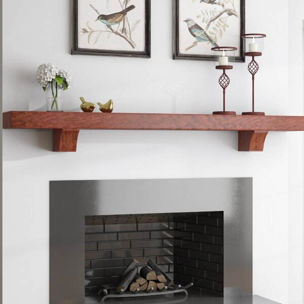 Beddington Fireplace Mantel Shelf by Charlton Home