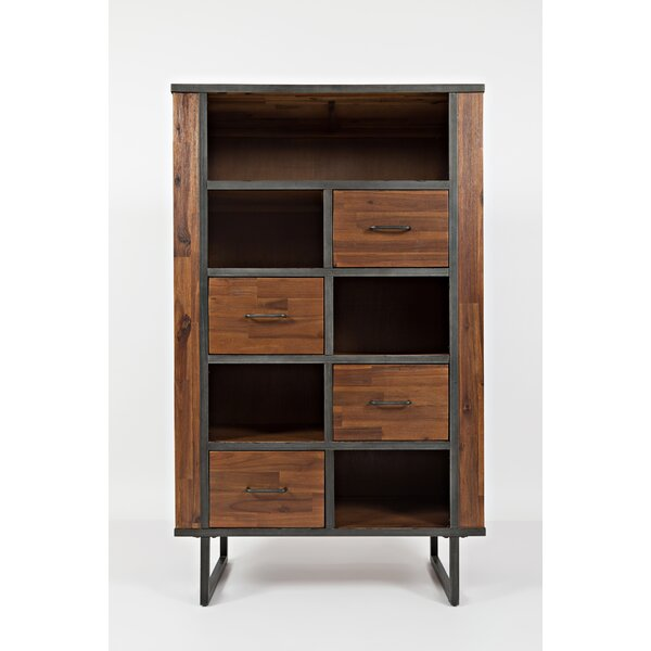 Goncalo Standard Bookcase by 17 Stories