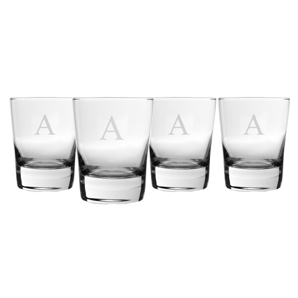 Gifts Double Old Fashioned Glass (Set of 4) by Cathys Concepts