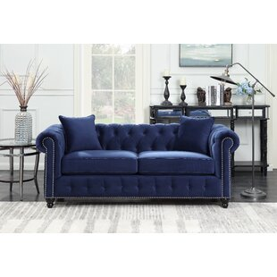 Sture Tufted Chesterfield Sofa