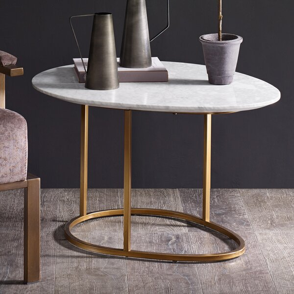 Mohamed End Table by Corrigan Studio
