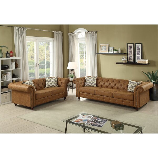 Hayse 2 Piece Living Room Set by Alcott Hill