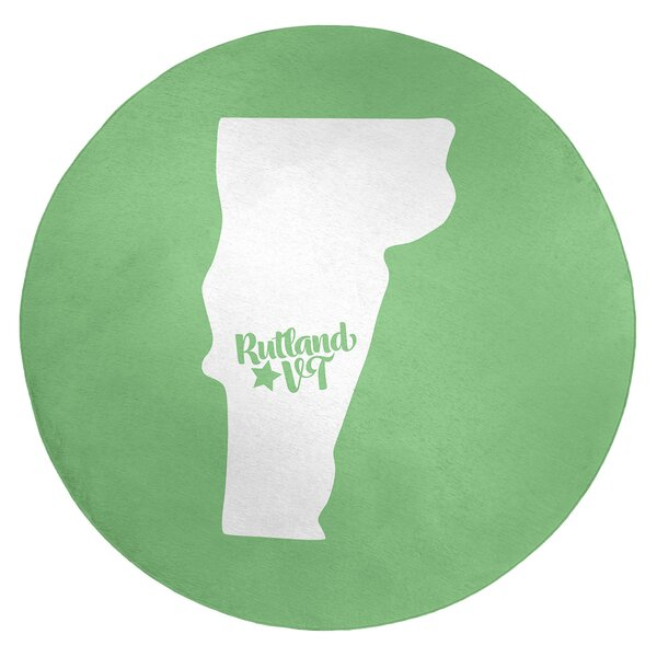 Rutland Vermont Poly Chenille Rug