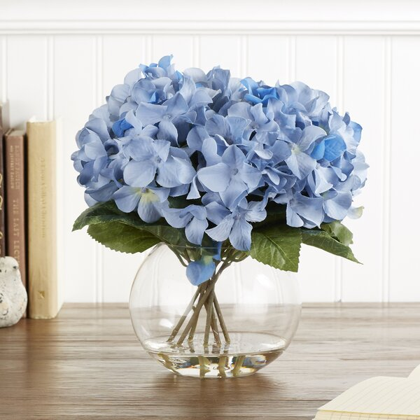 Faux Blue Hydrangea Bloom by Birch Lane™