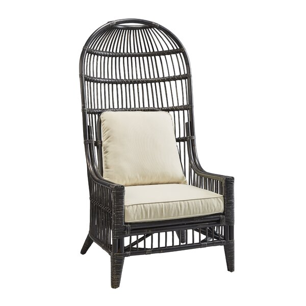 Hurley Patio Chair with Cushions by Bayou Breeze