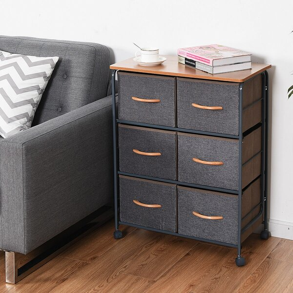 Mitsuwa 6 Drawer Chest by Winston Porter