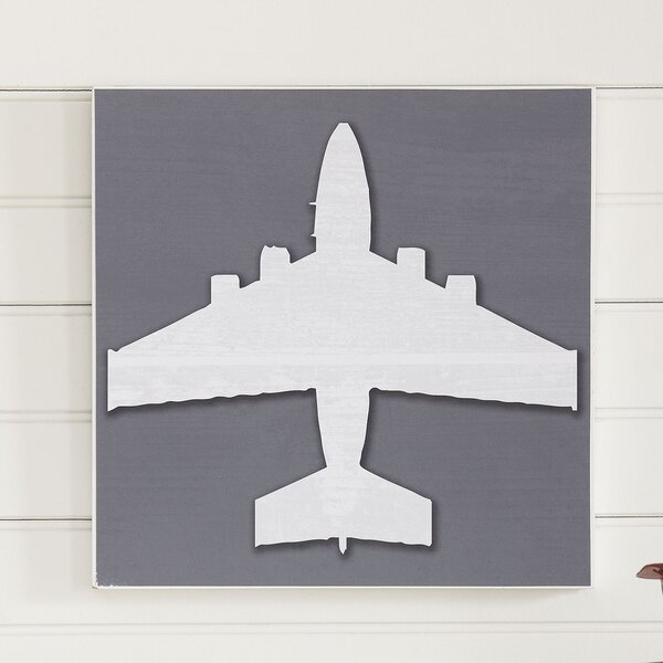 Airplane Take Flight Wall Art by Birch Lane™