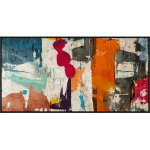 'Colors Royale' by Munson Framed Painting Print by Global Gallery