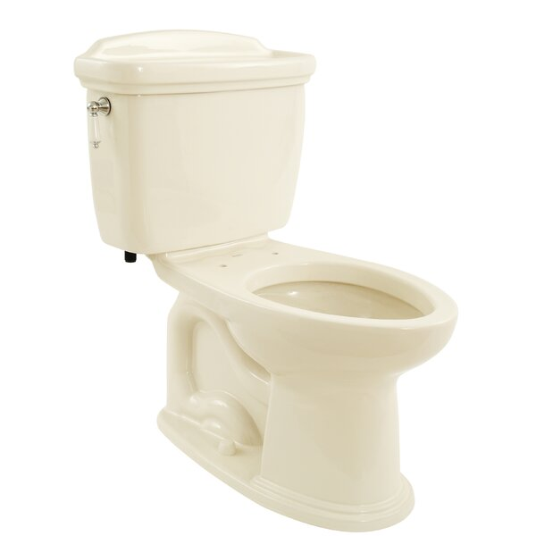 Dartmouth 1.6 GPF Elongated Two-Piece Toilet by Toto