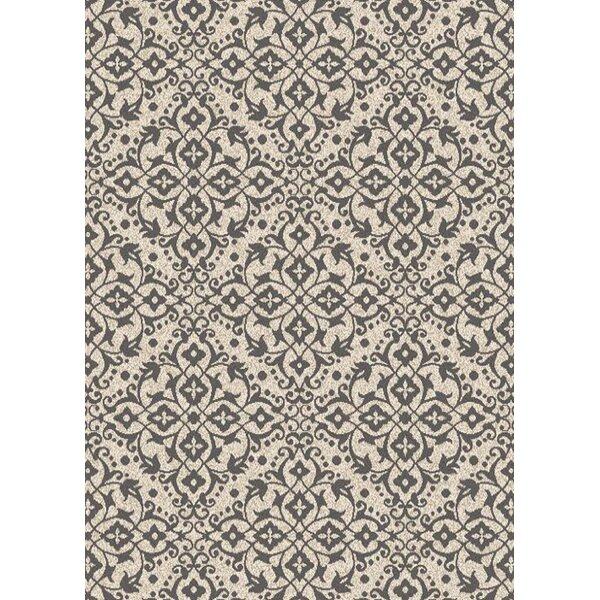 Augusta Dominion Ivory Gray Area Rug by Mayberry Rug