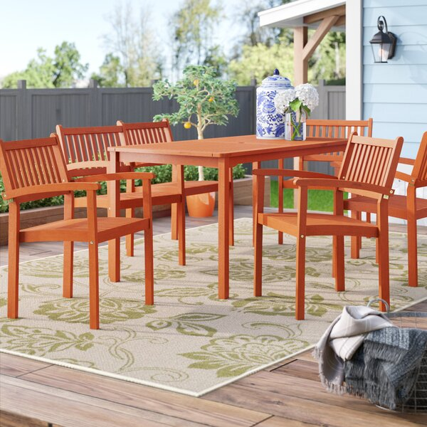 Amabel 7 Piece Dining Set By Beachcrest Home by Beachcrest Home Find