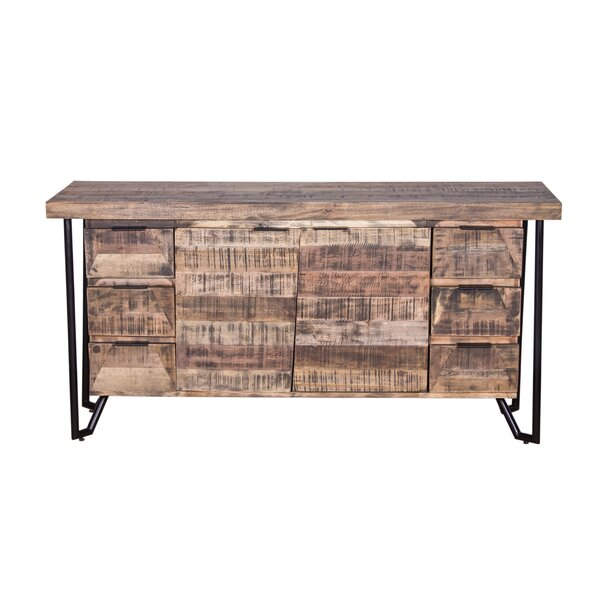 Binder Mixed Wood Buffet Table by Foundry Select